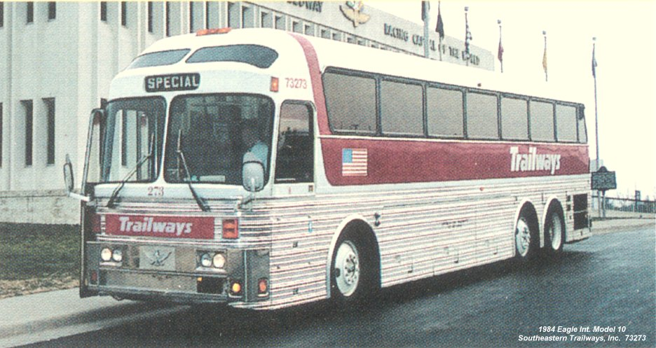 Click here for photo i s 73273 e10 Silver eagle motor coach